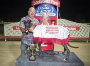 Santa drops into Lismore Greyhounds